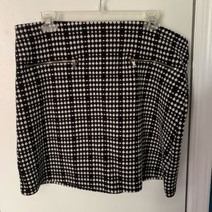 LOFT mini knit skirt size L